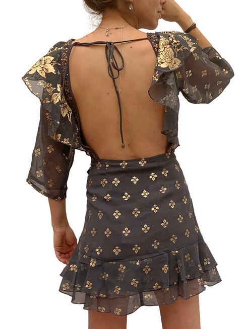 Vestido%20Dali%20Foil%20Mini%20Negro%20India%20Chic%2CAzul%2Chi-res