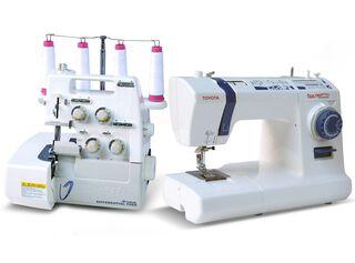 Máquina de coser QuiltMaster + Overlock Toyota SL3335,,hi-res