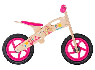 Bicicleta Madera Bianchi Barbie Aro 12 Hasta 90 cm,Rosado,hi-res