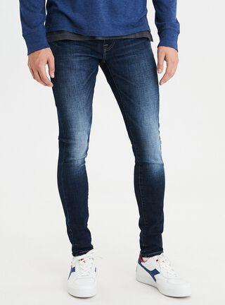 Jeans Ultra Skinny Ne(X)T Level American Eagle,Azul Petróleo,hi-res