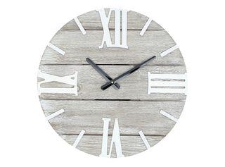 Reloj Madera Rom Alaniz Home 39 x 5 x 39 cm,Blanco,hi-res