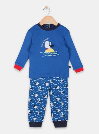 Pijama Pillin Bordado Cigueña Niño,Calipso,hi-res