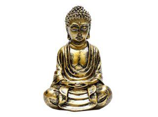 Adorno Gold Buddha Sarah Miller 10 x 7 x 15.5 cm,,hi-res