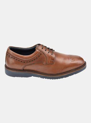 Zapato MR&MS Urban Brogue Casual,Café Oscuro,hi-res