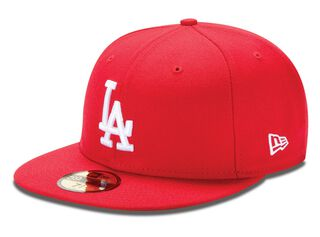 62071fad43e3b Jockey New Era MLB Basic Losdod SCA White 712
