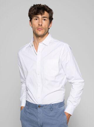 Camisa Slim Fit Lisa Nautica,Blanco,hi-res