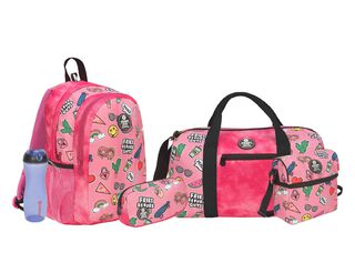 Pack Mochila Xtrem Mujer Megapack 835 Pink Patches,,hi-res