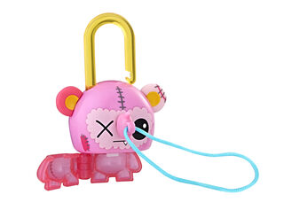 Figura Lock Stars Pink Bear Hasbro,,hi-res