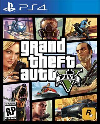 Juego PS4 GTA V,,hi-res