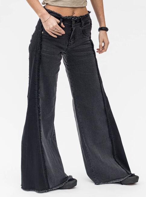 Jeans%20Palazzo%20Bicolor%20Lolita%20Pocket%2CNegro%2Chi-res