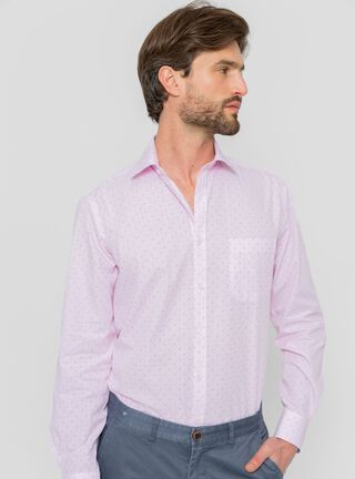 Camisa con Print Arrow,Rosado,hi-res