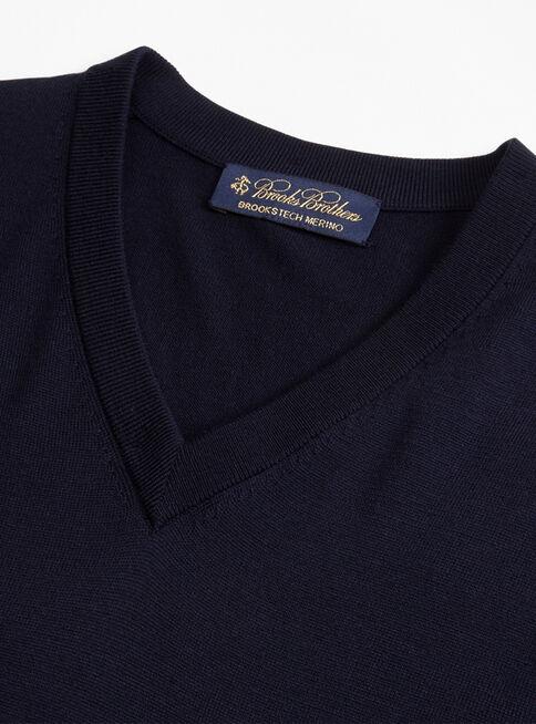 Sweater%20Azul%20Cuello%20V%20Brooks%20Brothers%2CAzul%20Marino%2Chi-res