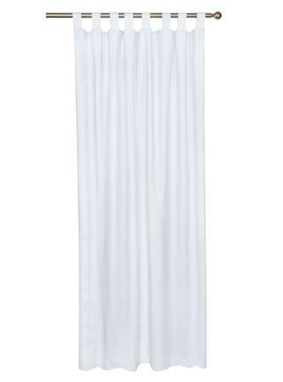 Cortina Chantilly Blackout Presillas 140x220 cm Blanco,,hi-res