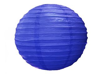 Pantalla de Lámpara Attimo Papel Azul,,hi-res