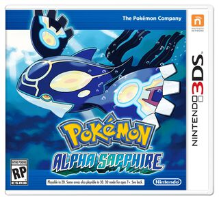 Juego Nintendo 3DS Pokemon Alpha Sapphire,,hi-res