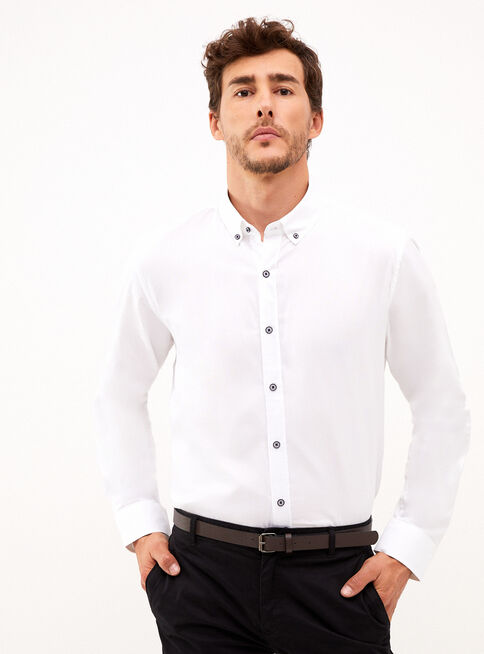 Camisa%20Elbow%20Patch%20Oxford%20Trial%C2%A0Sport%2CBlanco%2Chi-res