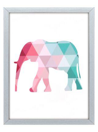Cuadro Tela Elefante 40 x 60 cm Home Republic,,hi-res