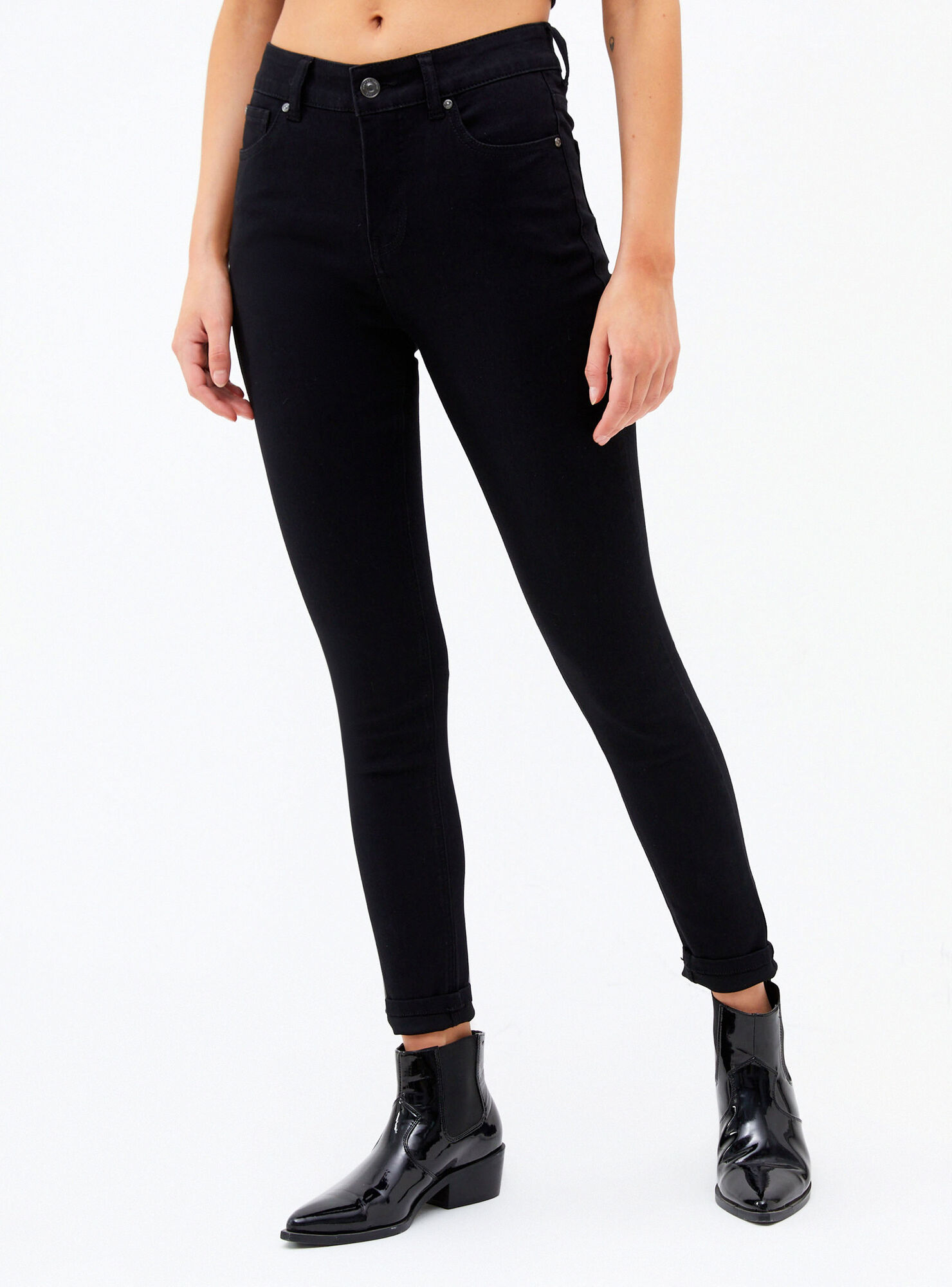 Jeans Basico Skinny Tiro Alto Foster Jeans Y Pantalones Paris Cl