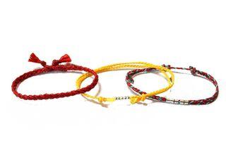 Set 3 Pulseras Kiutwoman Urban Tribe Become One Euphoric Red,,hi-res
