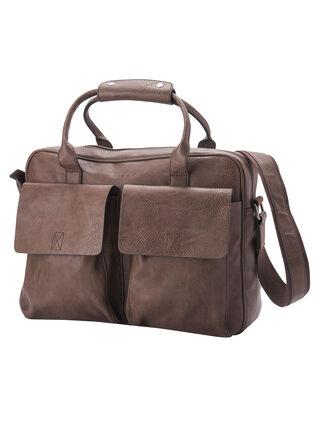 Bolso Laptop Bag Vintage Rocha,Café,hi-res