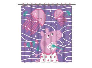 Cortina de Baño Peppa Pig 180x180 cm Vais,,hi-res