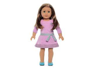 Muñeca Pelo Castaño Ojos Azul American American Girl,,hi-res