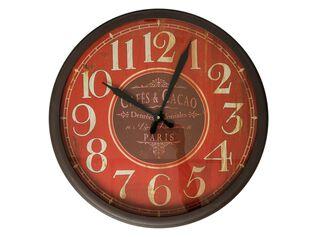 Reloj Cafe Rojo Alaniz Home,,hi-res