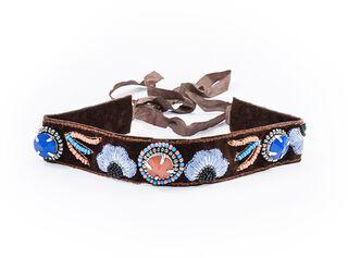 Collar Etnico Mostacillas Humana,Único Color,hi-res