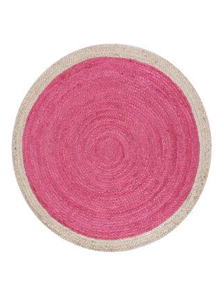 Alfombra Redonda Pastel Pink 100 cm Attimo Kids,,hi-res