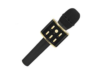 Micrófono Karaoke Bluetooth Negro Introtech,,hi-res