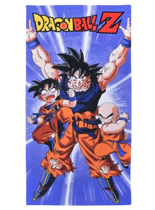 Toalla Playa Dragon Ball Z Battle 70x140 cm Licencias Infantiles,,hi-res