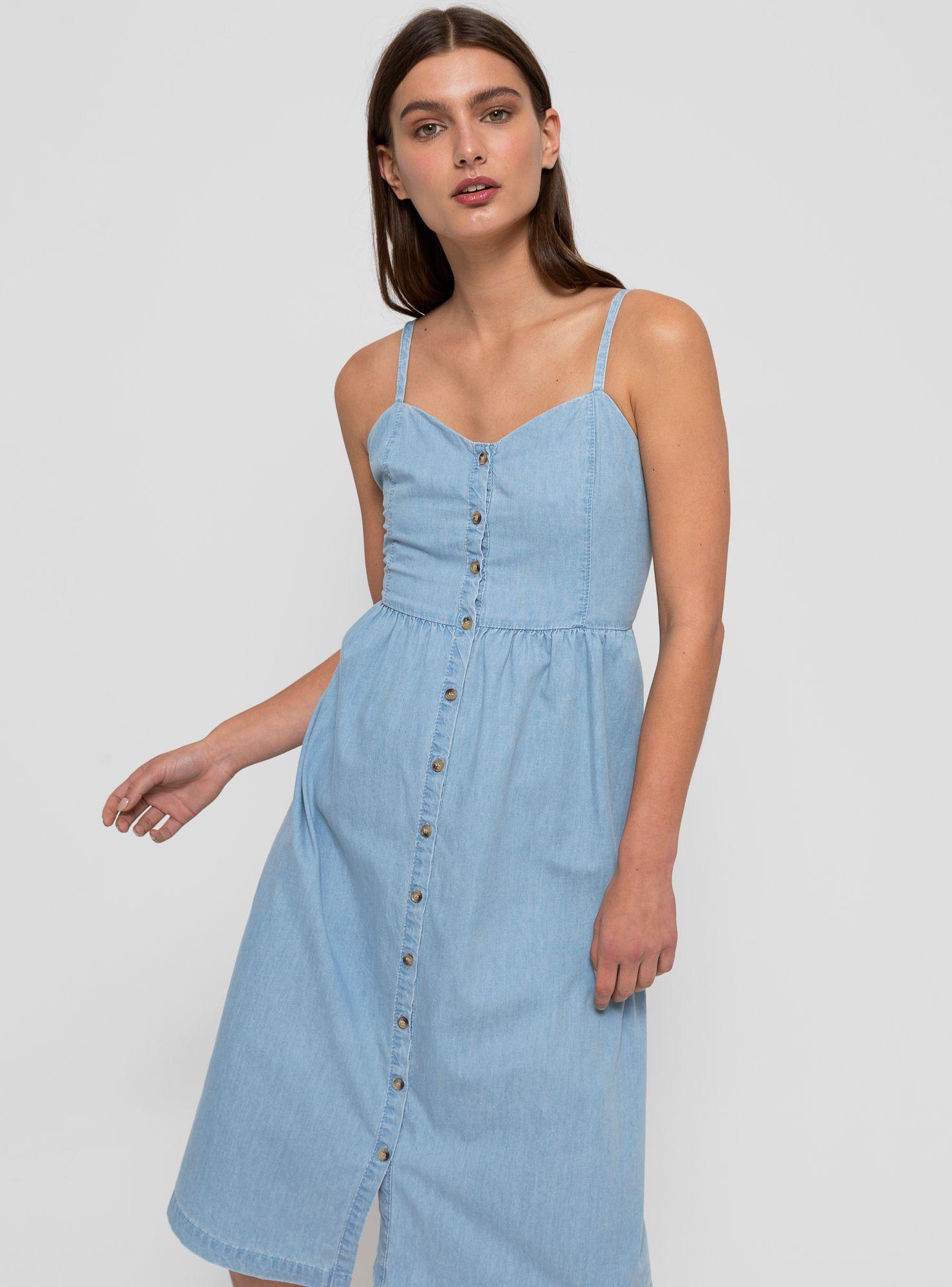 Vestidos de jean para gorditas