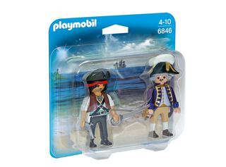 Duo Pack Pirata y Soldado Playmobil,,hi-res