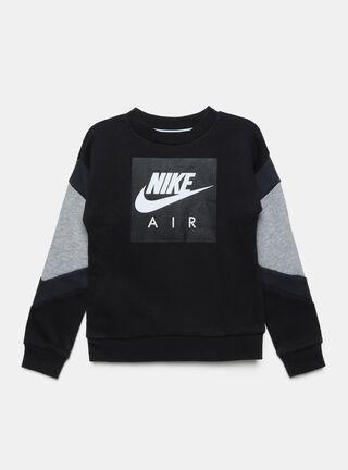 Polerón Nike Bicolor Niño,Negro,hi-res
