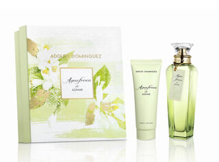 Set Perfume Adolfo Dominguez Agua Fresca De Azahar EDT 120 ml + Body Lotion 75 ml,,hi-res