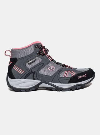 Zapatilla Spalding Rodeo High Outdoor Mujer,Gris,hi-res