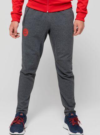 Pantalón Entrenamiento Fcb Adidas,Gris,hi-res
