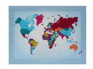 Canvas Mapas Attimo 30 x 40 cm,Diseño 2,hi-res
