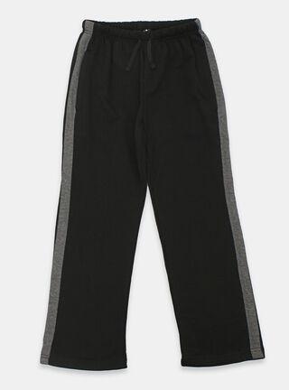 Pantalón Buzo Liso Básico Melt,Negro,hi-res