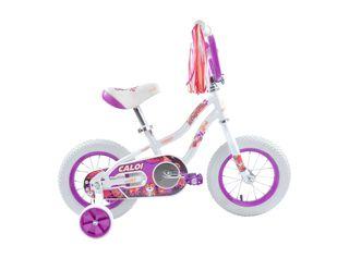Bicicleta Infantil Caloi Tigress Aro 12 Blanco Hasta 90 cm,Blanco,hi-res