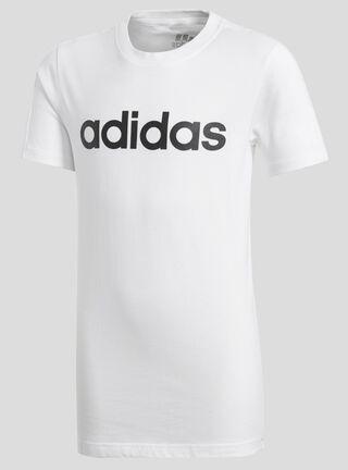 Polera Deportiva Linear Essentials Adidas Blanco,Blanco,hi-res