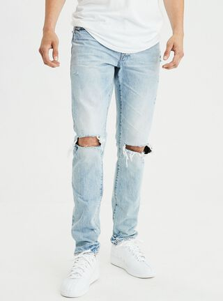 Jeans Slim American Eagle,Celeste,hi-res