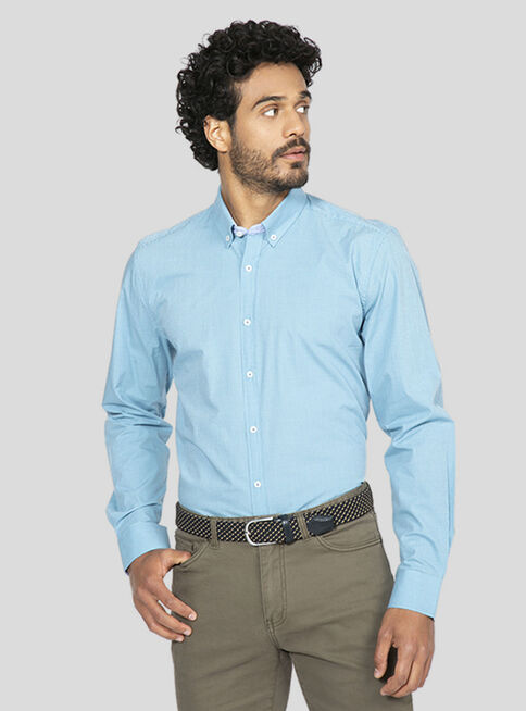 Camisa%20Cuello%20Button%20Down%20Tailored%20Fit%20Arrow%2CVerde%2Chi-res