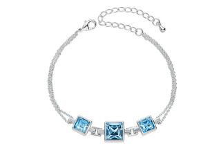 fba37dda4ef0 Pulsera Vanité Blue Cristales