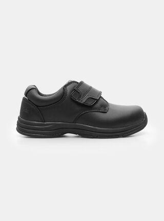 Zapato Colloky Velcro Escolar Niño,Negro,hi-res