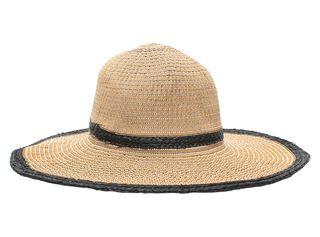 Sombrero de Playa Alaniz Contraste,Marfil,hi-res