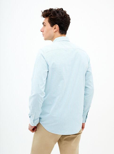 Camisa%20Rayada%20Oxford%20American%20Eagle%2CVerde%20Esmeralda%2Chi-res