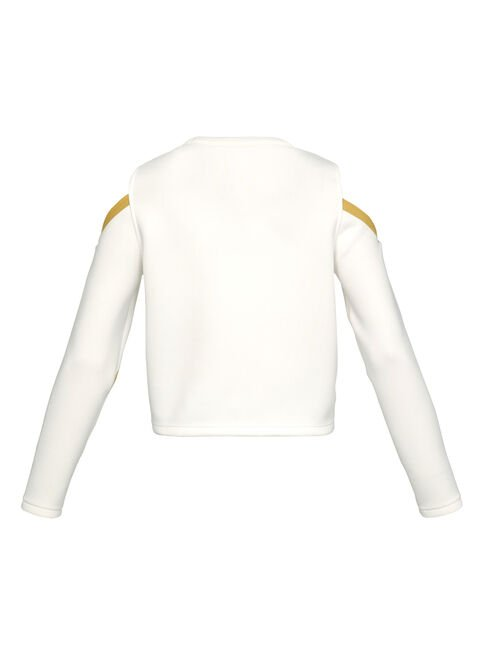 Polera%20Under%20Armour%20Misty%20Signature%20Spacer%20Mujer%2CBlanco%2Chi-res