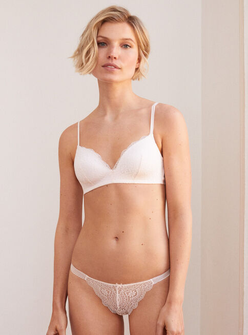 Calz%C3%B3n%20Top%20Removable%20Pad%20Bralettes%202%20Blanco%20Women'Secret%2CCoral%2Chi-res