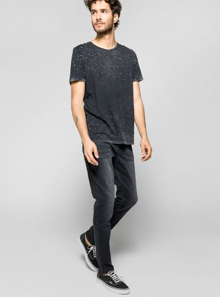 Jeans Focalizado Black Alexis Collection JJO,Negro,hi-res